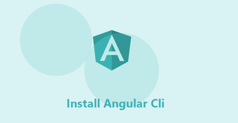 Angular - CLI Setup