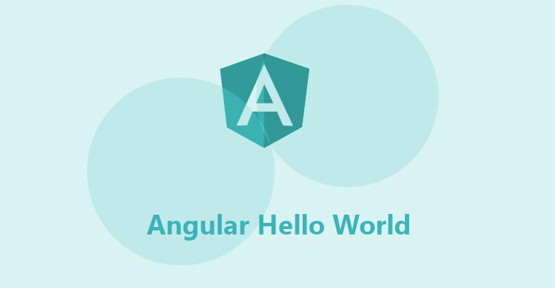 Angular Hello World