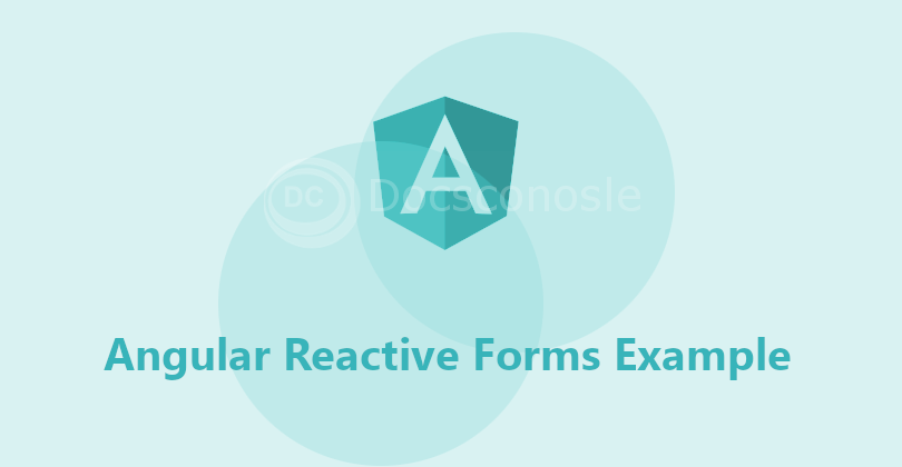 Angular Reactive Forms Example