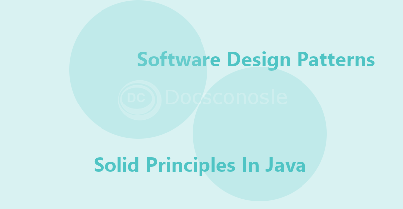 Solid Principles Java With Examples