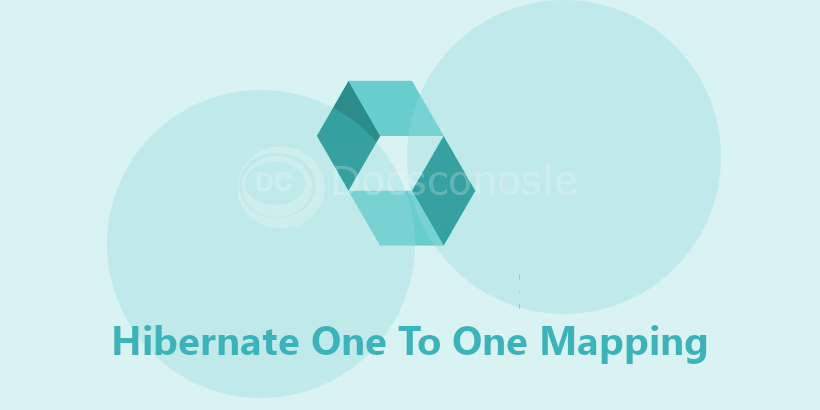 Hibernate One To One Mapping