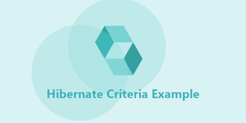 Criteria API Examples In Hibernate