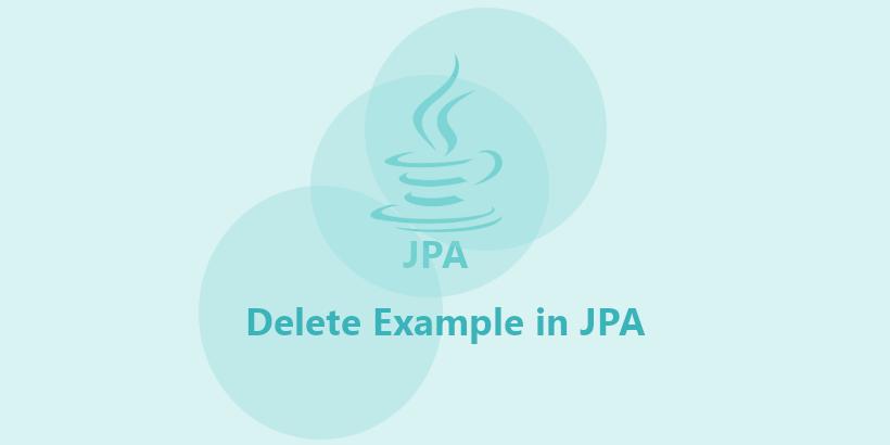 jpa delete query example