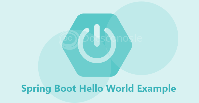 Spring Boot Hello World Example