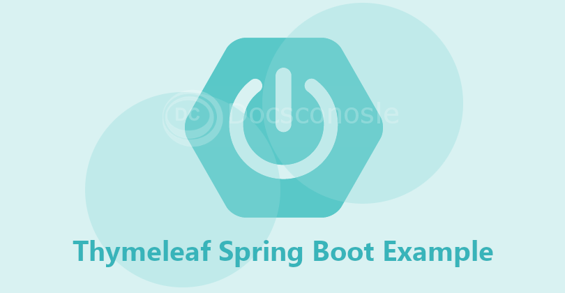 Thymeleaf Spring Boot Example