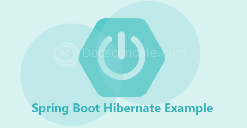 Spring Boot Hibernate Example