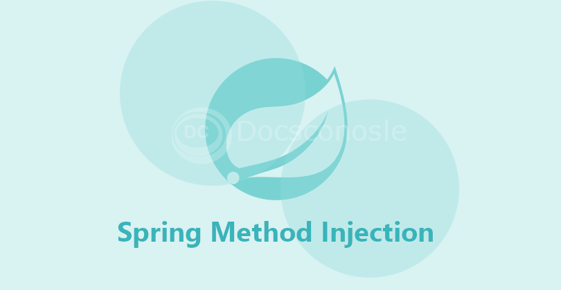 Spring Method Injection