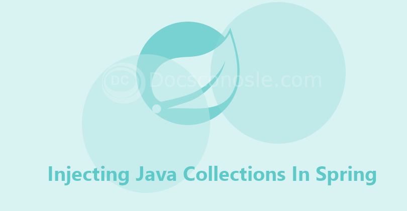 Injecting Java Collections In Spring