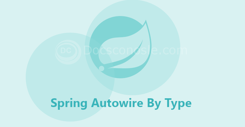 Spring Autowire By Type