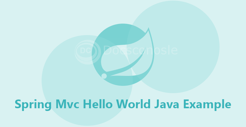Spring5 MVC HelloWorld JavaConfig Example