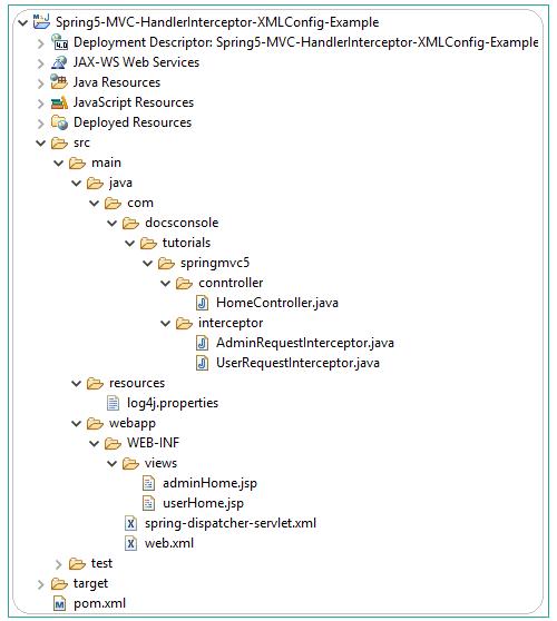 Spring5-MVC-HandlerInterceptor-XMLConfig-Example
