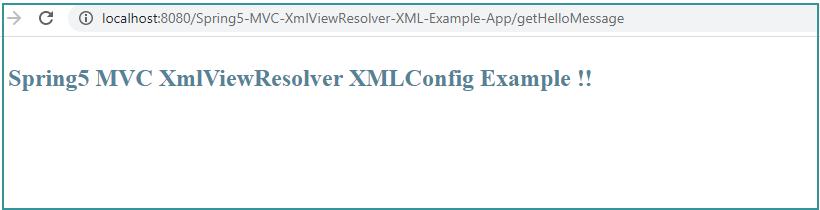 Spring Mvc Xmlviewresolver Example