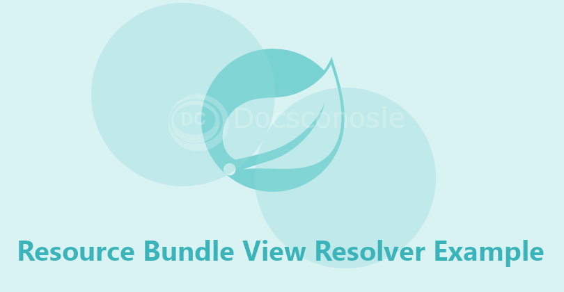 Resource Bundle View Resolver Example