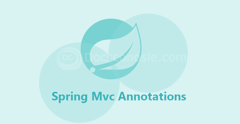Spring Mvc Annotations