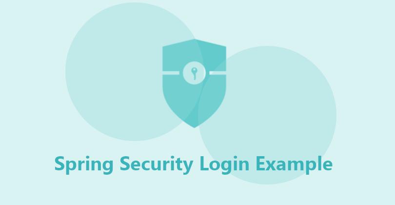 spring security form login