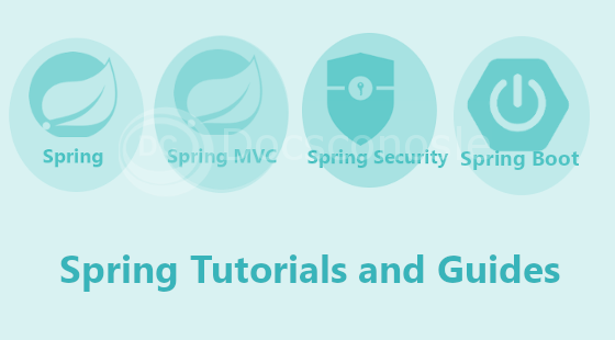 spring spring boot spring security tutorials